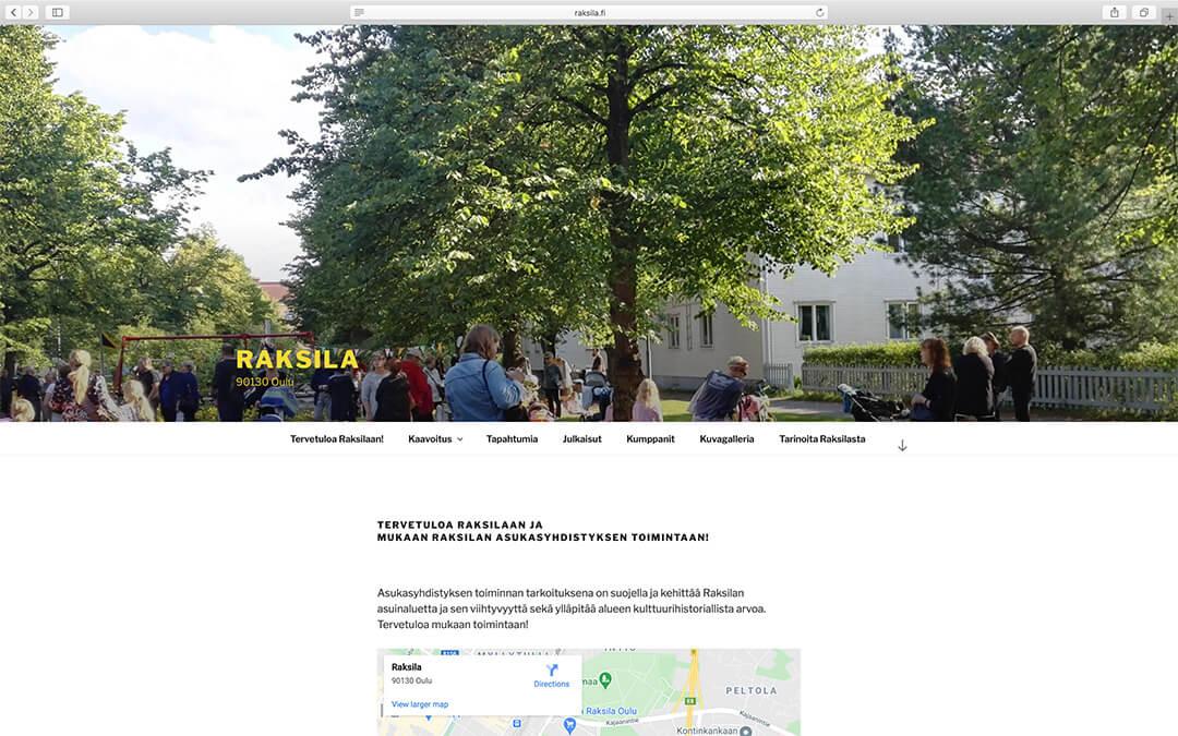 Raksilan www-sivut