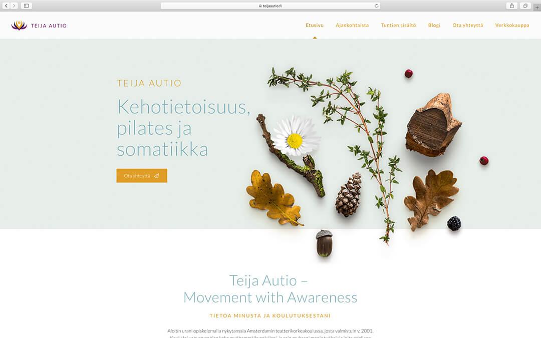 Teija Aution www-sivut